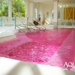 Aqua Couleur pool - Fuschia