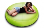 Large Green Pouf